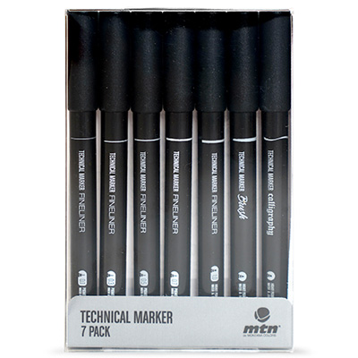MTN Technical Marker 7er Set