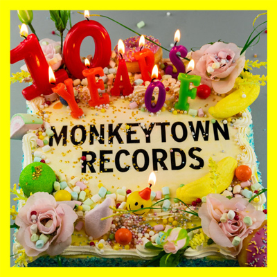 Various - 10 Years Of Monkeytown Records - Vinyl 2xLP