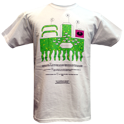 LAYUP 10 Years T-Shirt SPUKWORLD white