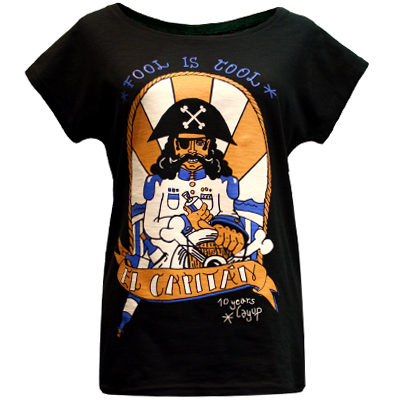 LAYUP 10 Years Girl Shirt EL CAPITAN black