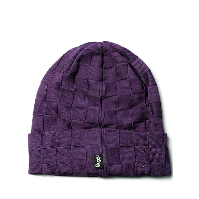 LRG Beanie SHAKEN NOT STIRRED plum