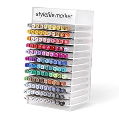 STYLEFILE Marker BRUSH 120er Display Set Full