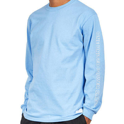 1UP Longsleeve Shirt BERLIN KREUZBERG light blue