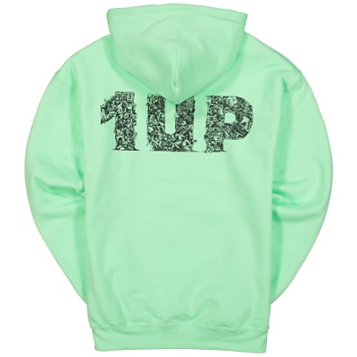1UP Hoody SHARK ISLAND mint