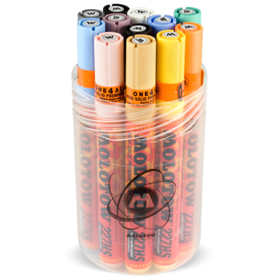 MOLOTOW 227HS ONE4ALL 12er PASTELL KIT