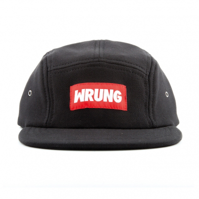 WRUNG 5Panel Cap BOX CVC black