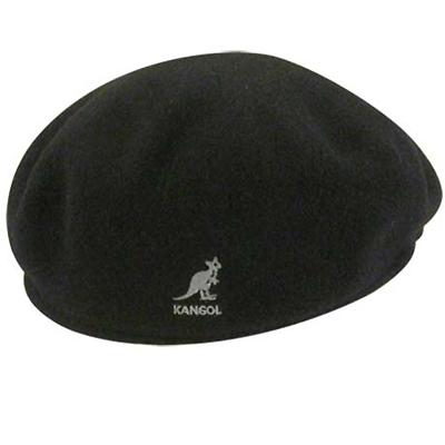 Kangol Headwear - KANGOL Flat Cap WOOL 504 black - Diverse Caps ... 0e162ce7f1b