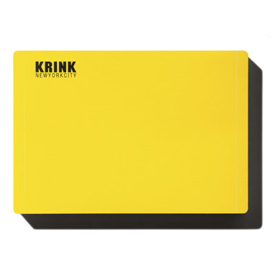 KRINK Blank Sticker Pack (50pcs) yellow