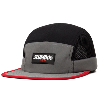 SLUMDOG 5Panel Cap black/grey/red