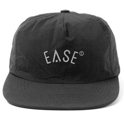 EASE 5Panel Cap LOGO black