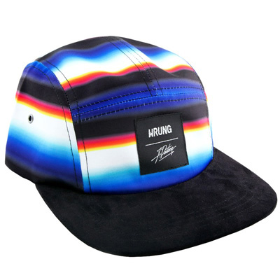 WRUNG 5Panel Cap LASER X PANTONE black/multi