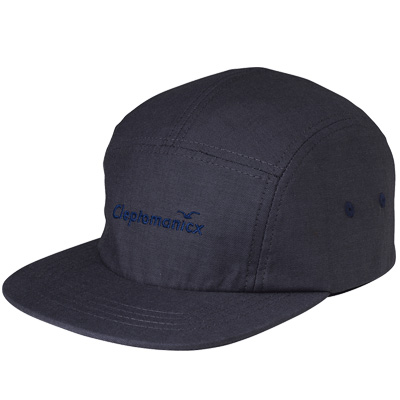 CLEPTOMANICX 5Panel Cap OXFORD black