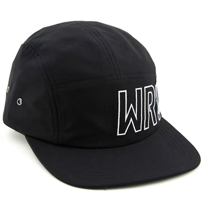 WRUNG 5Panel Cap SIDE black/white