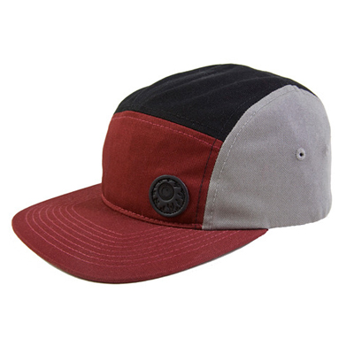 MISHKA 5Panel Cap KEEP WATCH maroon