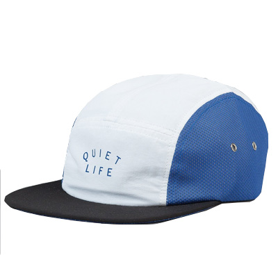 THE QUIET LIFE 5Panel Cap RUNNER white/blue/black