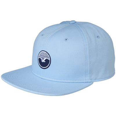 CLEPTOMANICX Snap Back Cap PATCH light blue