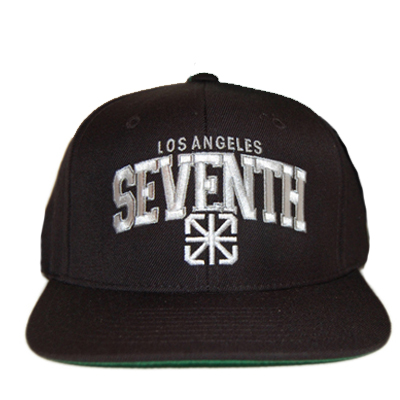 7TH LETTER X STARTER Snap Back Cap L.A. black