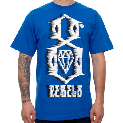REBEL8 T-Shirt 88MPH royal