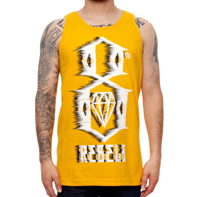 REBEL8 Tank Top 88MPH yellow
