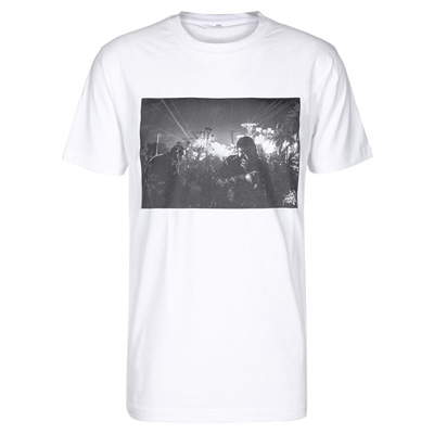 EIGHT MILES HIGH T-Shirt DJUNGLE white