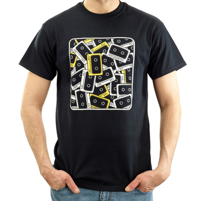 STEPKING T-Shirt 90S black