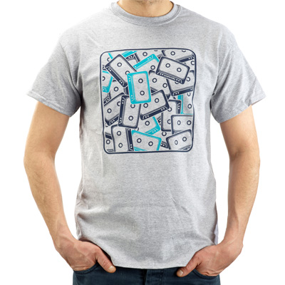 STEPKING T-Shirt 90S heather grey