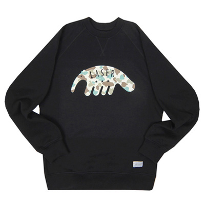 LASER Sweater ANTEATER black/camo