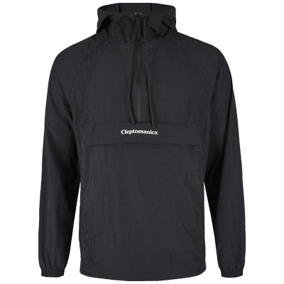 CLEPTOMANICX Anorak Jacket CITYHHHOODED LIGHT black
