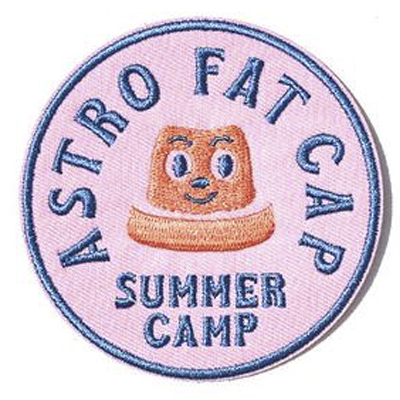 VANDALS ON HOLIDAY Patch ASTRO FAT SUMMER CAMP