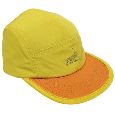 SELVA 5Panel Cap ATLANTICO yellow