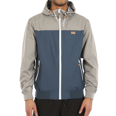 IRIEDAILY Windbreaker AUF DECK grey/blue