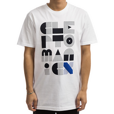 CLEPTOMANICX T-Shirt AVANT white