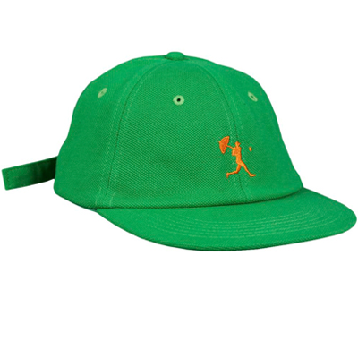 HELAS 6Panel Cap BALLER green/orange