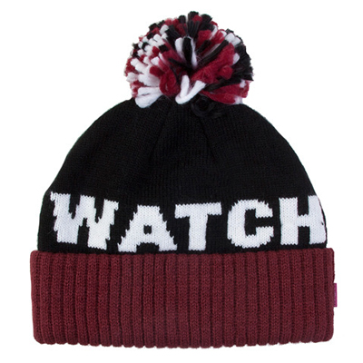 Mishka - MISHKA Beanie KEEP WATCH POM black Layup Online Shop Mishka ... afc1484d377