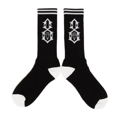 REBEL8 Socken LOGO black