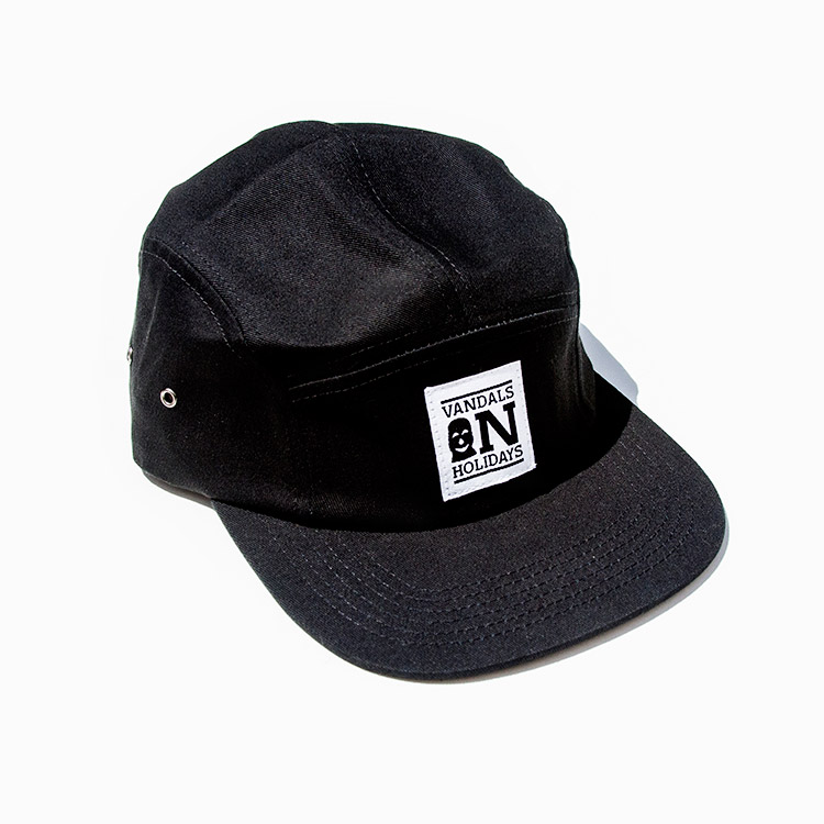 VANDALS ON HOLIDAYS 5Panel Cap LOGO black