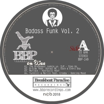 Various Artists - Badass Funk Vol. 2 - Vinyl EP