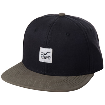 CLEPTOMANICX Snap Back Cap BADGER II pirate black