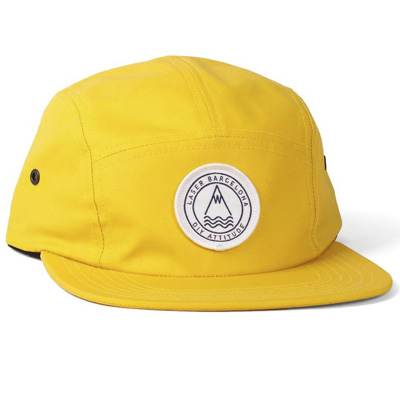 LASER 5Panel Cap BARCELONETA yellow