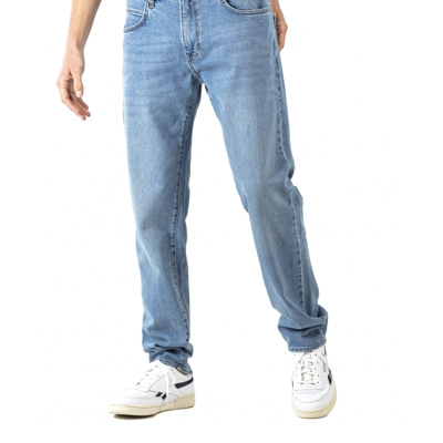 REELL Jeans BARFLY light blue stone