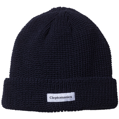 CLEPTOMANICX Beanie SHORTIE dark navy