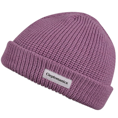 CLEPTOMANICX Beanie SHORTIE dusty lavender