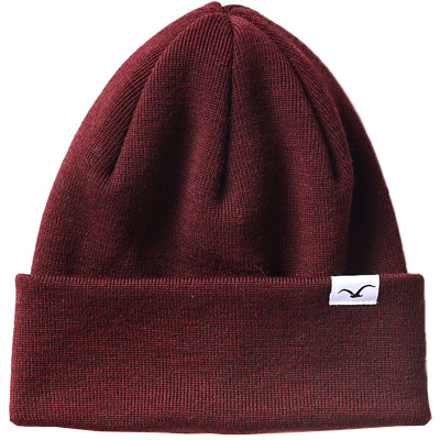 CLEPTOMANICX Beanie WIND windsor wine