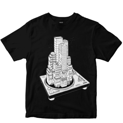 DEPHECT T-Shirt BLOCK PARTY black