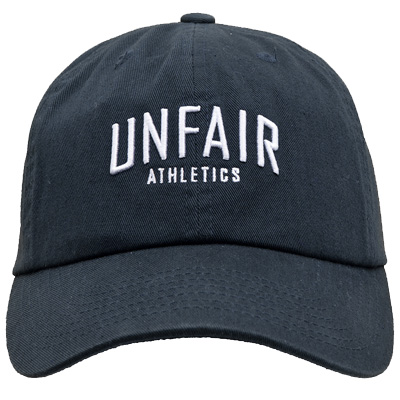 UNFAIR ATHLETICS 6Panel Baseball Cap BLOCK black