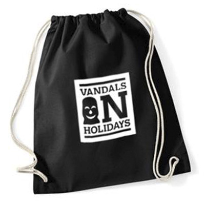 VANDALS ON HOLIDAYS Gym Bag BOX LOGO black