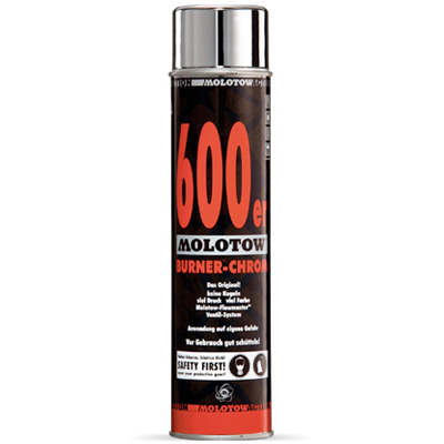 MOLOTOW Spraydose Burner Chrome 600ml
