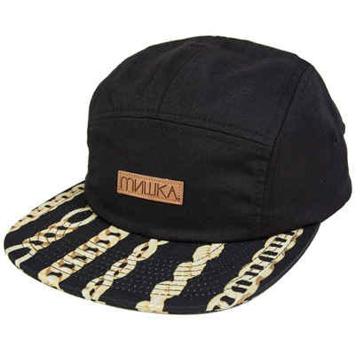 MISHKA 5Panel Cap CHAINED black/gold