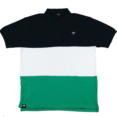 HELAS Polo Shirt CLASSIC navy/white/green
