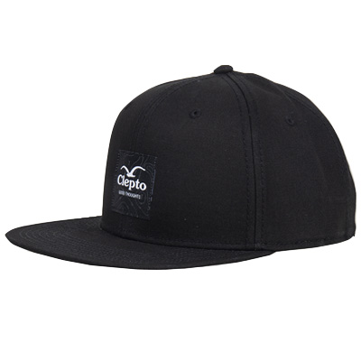 CLEPTOMANICX Snap Back Cap ISOBAREN black